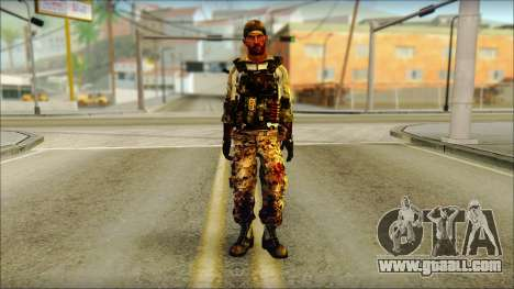 Taliban Resurrection Skin from COD 5 for GTA San Andreas