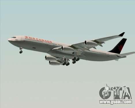 Airbus A340-313 Air Canada for GTA San Andreas engine