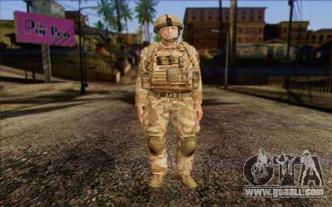 British soldiers (ArmA II: BAF) v2 for GTA San Andreas
