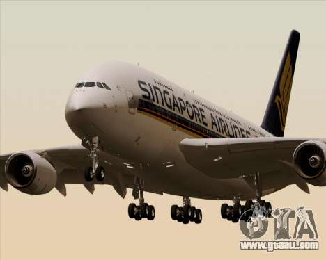 Airbus A380-841 Singapore Airlines for GTA San Andreas
