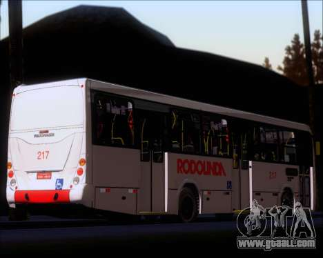 Marcopolo Torino G7 2007 - Volksbus 17-230 EOD for GTA San Andreas bottom view