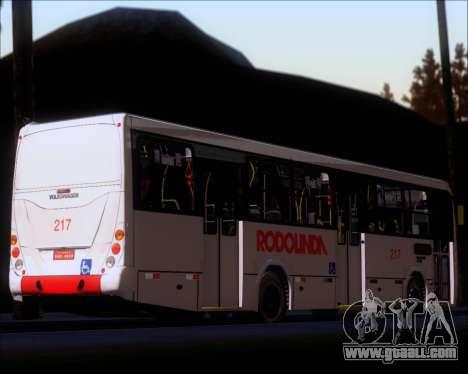 Marcopolo Torino G7 2007 - Volksbus 17-230 EOD for GTA San Andreas bottom view