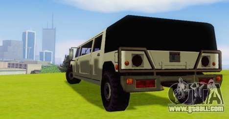 Patriot Limousine for GTA San Andreas right view