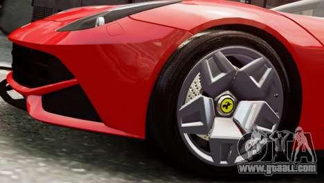 Ferrari F12 Roadster for GTA 4 right view