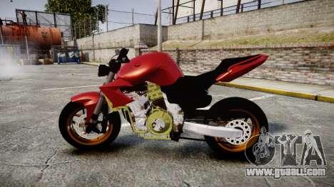 Yamaha FZ6 for GTA 4 left view