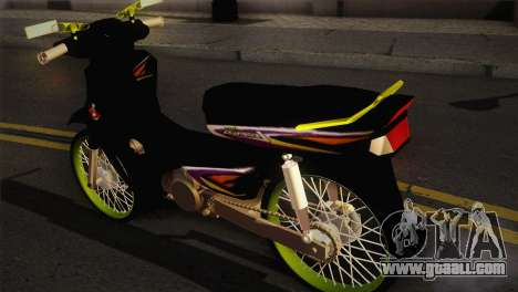 Honda Astrea for GTA San Andreas left view