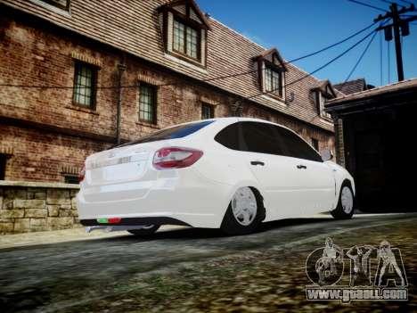 Lada Granta Liftback for GTA 4 side view