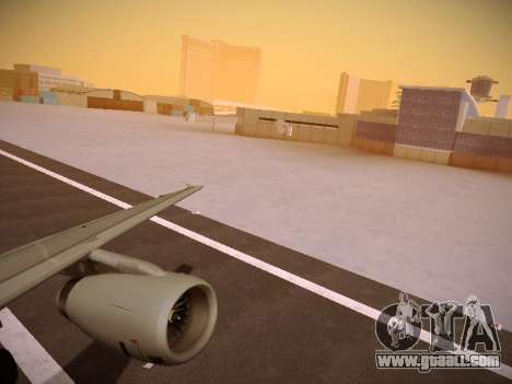 Airbus A319-132 Germanwings for GTA San Andreas inner view