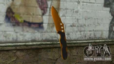 Nitro Knife for GTA San Andreas