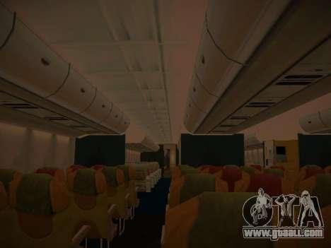Airbus A380-800 Thai Airways International for GTA San Andreas wheels