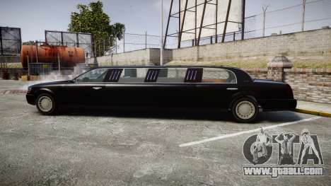 GTA V Albany Washington Limousine for GTA 4 left view