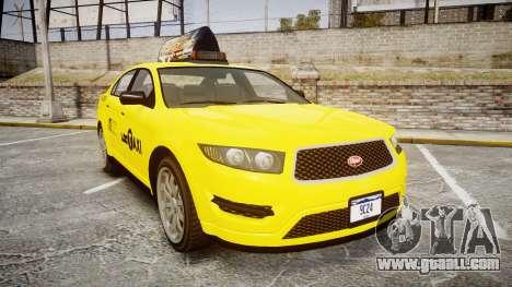 GTA V Vapid Taurus Taxi LCC for GTA 4