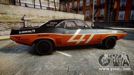 Dodge Challenger 1971 v2.2 PJ9 for GTA 4 left view