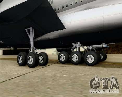 Airbus A380-861 Qatar Airways for GTA San Andreas upper view