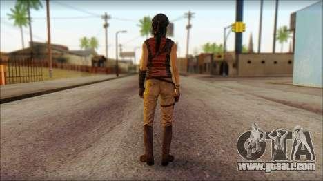 Tomb Raider Skin 5 2013 for GTA San Andreas second screenshot