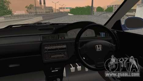 Honda Civic EG6 for GTA San Andreas back left view
