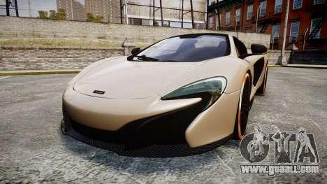 McLaren 650S Spider 2014 [EPM] Bridgestone v1 for GTA 4