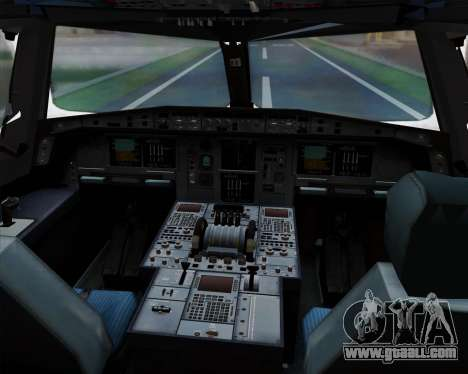 Airbus A380-841 China Southern Airlines for GTA San Andreas interior