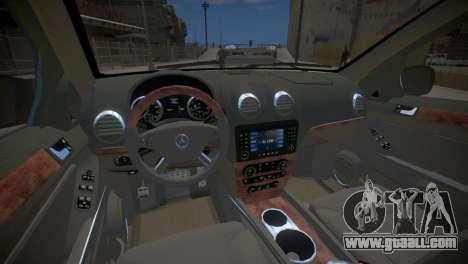 Mercedes-Benz GL450 AMG Police Interceptor 2013 for GTA 4 inner view
