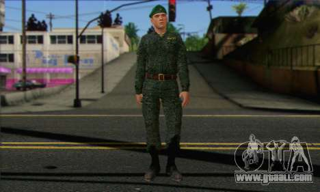 Private Motorized Rifle Troops. RAA v1 for GTA San Andreas
