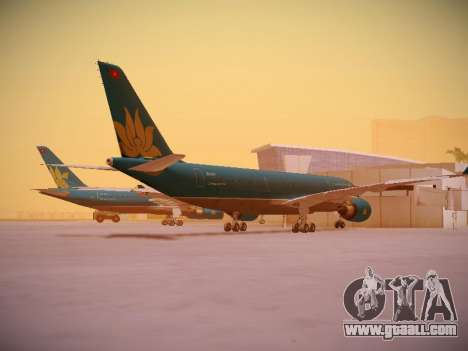 Airbus A330-200 Vietnam Airlines for GTA San Andreas right view
