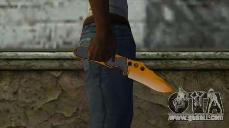 Nitro Knife for GTA San Andreas third screenshot