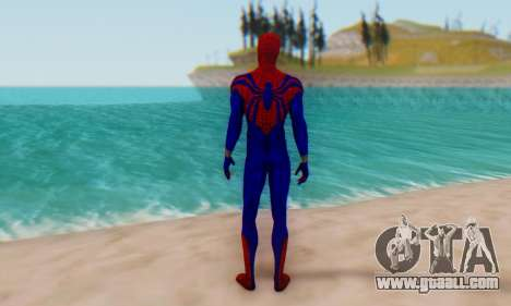 Skin The Amazing Spider Man 2 - Ben Reily for GTA San Andreas third screenshot