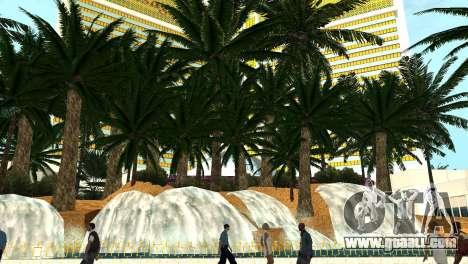 New textures casino Visage in Las Venturas for GTA San Andreas forth screenshot