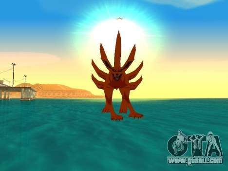 The Kyubi Transformation for GTA San Andreas fifth screenshot
