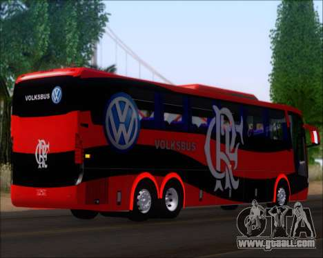 Busscar Elegance 360 C.R.F Flamengo for GTA San Andreas back left view
