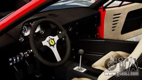 Ferrari F40 1987 for GTA 4 side view