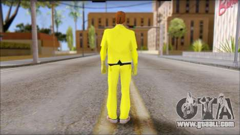 Marty with Radiation Protection Suit 1985 for GTA San Andreas second screenshot