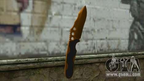 Nitro Knife for GTA San Andreas second screenshot