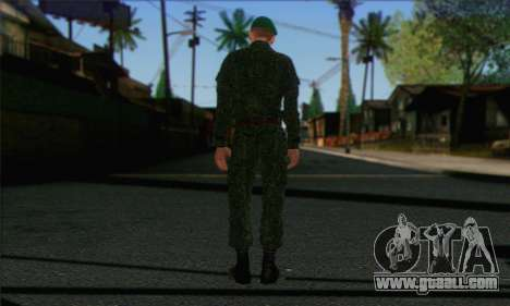 Private Motorized Rifle Troops. RAA v1 for GTA San Andreas second screenshot