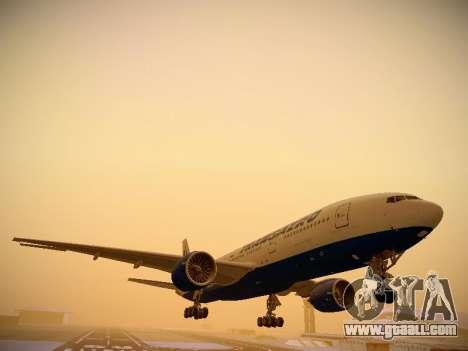 Boeing 777-212ER Transaero Airlines for GTA San Andreas left view