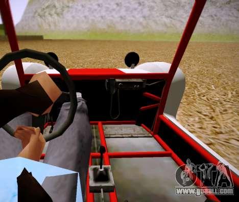 GTA 5 Bifta for GTA San Andreas back left view