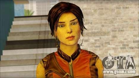 Tomb Raider Skin 5 2013 for GTA San Andreas third screenshot