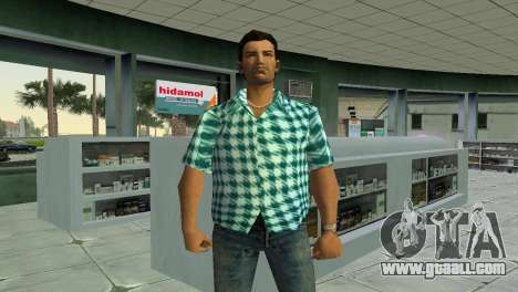 Kockas polo - vilagoskek T-Shirt for GTA Vice City