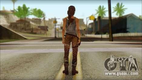 Tomb Raider Skin 12 2013 for GTA San Andreas second screenshot