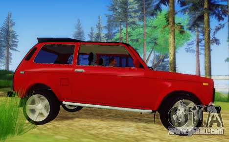 LADA-212180 Fora for GTA San Andreas back left view