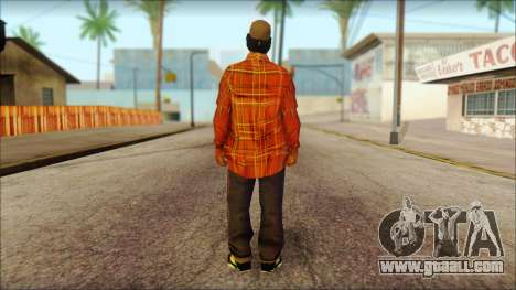 Eazy-E Red Skin v1 for GTA San Andreas second screenshot