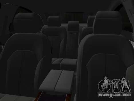Audi A8 2010 W12 Rim3 for GTA Vice City side view