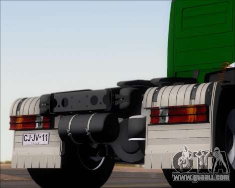 Mercedes-Benz Actros 3241 for GTA San Andreas engine