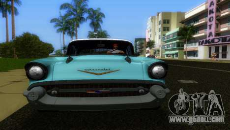 Chevrolet BelAir 1957 for GTA Vice City right view