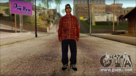 Eazy-E Red Skin v1 for GTA San Andreas