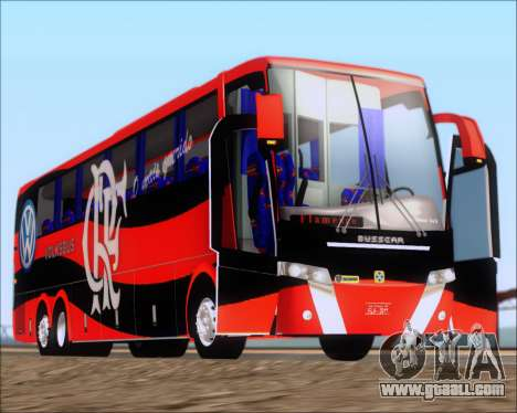 Busscar Elegance 360 C.R.F Flamengo for GTA San Andreas side view