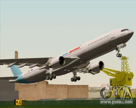 Airbus A330-300 Air Inter for GTA San Andreas side view