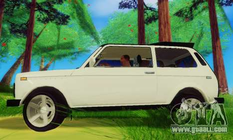 LADA-212180 Fora for GTA San Andreas left view