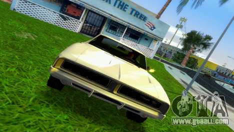 Dodge Charger 1967 for GTA Vice City left view