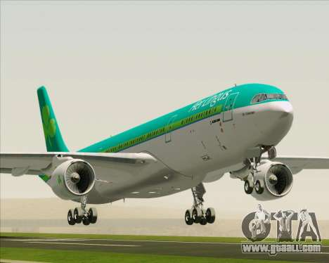 Airbus A330-300 Aer Lingus for GTA San Andreas
